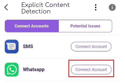 FamiSafe Explicit Content Detection