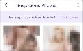 FamiSafe Suspicious Photo Example