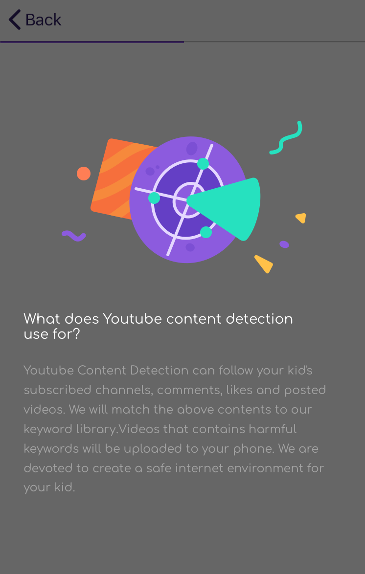 FamiSafe iOS YouTube Content Detection